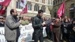 Concentración en defensa de las juntas vecinales. León, 9 marzo 2013. Fuente: IU-León.