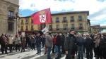 Juntas vecinales. Concentración en defensa de las juntas vecinales. León, 9 marzo 2013. Fuente: IU-León.