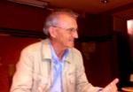 El profesor Pedro Costa Morata. Cacabelos, 25 mayo 2013. Fuente: unecol.ogistaenelbierzo.wordpress.com. Foto: Enrique L. Manzano.