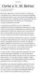 Carta de Xosé Luis Franco Grande a Xosé Manuel Beiras en 'La Voz de Galicia'. 7 enero 2013. Fuente: ex-voz.blogspot.com.es.