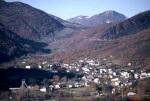 La población de Caboalles de Abajo, en Laciana.