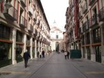Los ecologistas reclaman un modelo de ciudad más sostenible. Calle Platerías. Valladolid. 2014. Valladolidcalleacalle.wordpress.com.