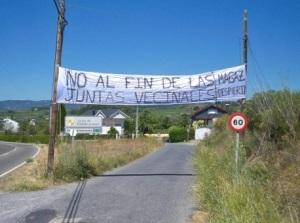 Magaz de Abajo reclama el respeto a sus derechos comunales. 2012.