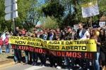 Manifestación contra la megaminería en Galicia. Corcoesto. Santiago de Compostela. 2 jun. 2013. Fuente: gzvideos.
