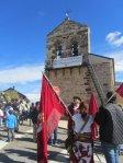 Manifestación en Riello en defensa de las Juntas Vecinales. Fuente: esllabon.blogspot.com.