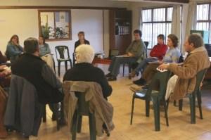 Una reunión de juntas vecinales. 2012.