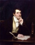 Sir Humphry Davy, por Thomas Phillips (1778-1829). Wikipedia.org.