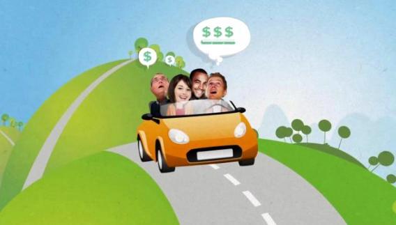 Una imagen del video promocional de 'Bla,bla car'. Idealista.com.