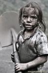 Una jovencísima trabajadora. Fuente: Anca24.
