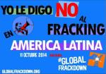 Yo le digo no al fracking en América Latina. 11 oct. 2014. 350.org.