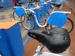 Servicio de alquiler de bicicletas de Ponferrada, 8 nov. 2014. Foto: Enrique L. Manzano.