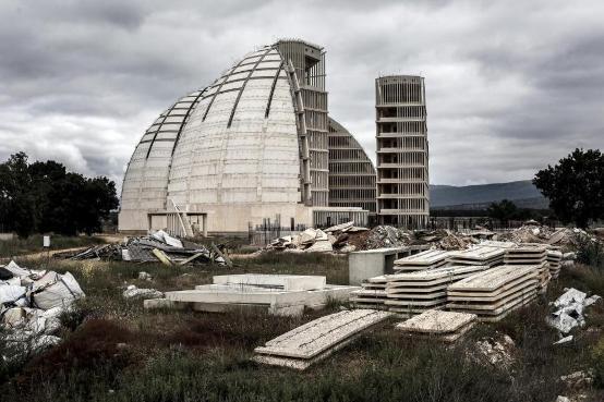 Cúpulas de la Ciudad del Medio Ambiente. 31 agosto 2014. Elmundo.es.