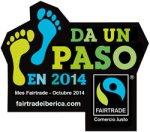 Campaña 'Da un paso'. Comercio justo. 2014. Fairtrade.