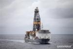 El 'Rowan Reinassance' con el que Repsol planea perforar en Canarias. 15 nov. 2014. Greenpeace.org.