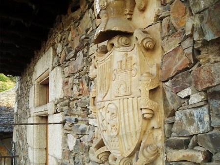 Escudo de la Casa de los Carrera. Villar de los Barrios. Foto: Enrique López Manzano.