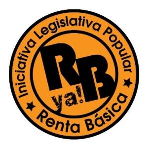 Logo. Iniciativa Legislativa Popular. Red Renta Básica. 2014.