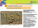 Propaganda oficial de la Ciudad del Medio Ambiente subrayando que el proyecto no afecta a zonas protegidas. Ciudaddelmedioambiente.org.
