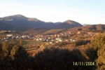 Vista general de Lillo del Bierzo 2004.