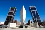 Torres KIO y Obelisco Calatrava. Madrid.