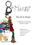 Cartel. Día de la Mujer. Ponferrada, 8 marzo 2013. Fuente: unecologistaenelbierzo.