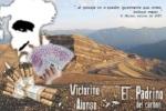 Victorino Alonso. Fotomontaje de denuncia de los cielos abiertos por Victorino Alonso en Laciana. 2011. Tomalaplaza.net.