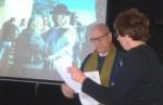 Camilo de Dios en un momento de su presentación. Ponferrada, 24 enero 2015. Foto: Enrique L. Manzano.