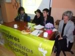 Rosa Fernández, Elisa, Rosa Álvarez y Jutta. Premio Mujer 2013. Ponferrada, 8 marzo 2013. Foto Enrique L. Manzano.
