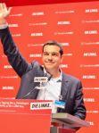 El líder de Syriza, Alexis Tsipras en Berlín. 10 mayo 2014. Wikipedia.org.