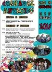 Cartel. Carnaval. Lago de Carucedo, 15 febr. 2015. Unecologistaenelbierzo.wordpress.com.