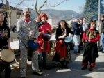 Disfraces en el carnaval de Lago de Carucedo.-6 marzo 2011. Foto:-Enrique L. Manzano.