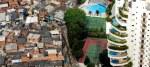 Favela Paraisópolis haciendo frontera con el distrito de Morumbi en São Paulo. Tuca Vieira. Oxfamintermon.org.