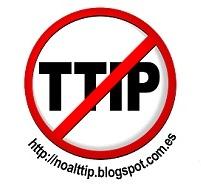 Logo. Campaña 'No al TIPP'. 2014.