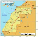 Mapa del Sahara Occidental. Wikipedia.org.