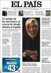 Portada de 'El País'. 10 dic. 2009.