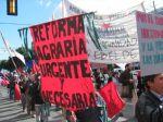 Protesta campesina indígena por la tierra. 15 jul. 2010. Argentina. indymedia.org.