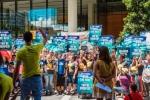 Protesta contra los combustibles fósiles. Sidney (Australia). 13 febr. 2015. 350.org.