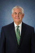Rex Tillerson, presidente de . ExxonMobil Development Company. Corporate.exxonmobil.com.