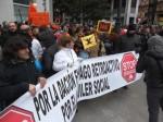 Stop Desahucios. Ponferrada, 23 febr. 2013. Foto: Enrique L. Manzano.