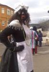 Un disfraz en el carnaval de Lago de Carucedo. 15 febr. 2015. Foto: Enrique L. Manzano.