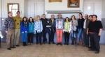 Algunos miembros de Podemos Plural CyL. Tordesillas, 7 marzo 2015.