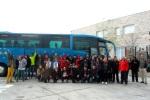 Participantes procedentes de Ponferrada. 21 marzo 2015. Foto Enrique L. Manzano.