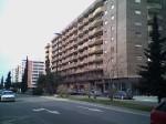 El barrio de Almozara. Zaragoza.