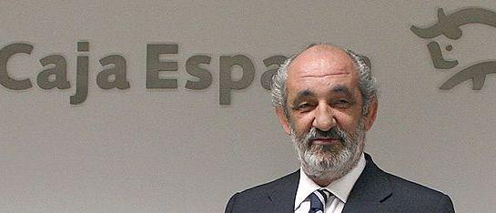 Caja España desoyó al BdE para mantener a Llamas como presidente pese a adeudar 70 millones. Ical. Peio García.