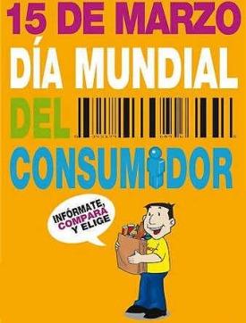 Día Mundial del Consumidor. 15 marzo 2015. Eefemeridesimagenes.