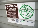 La basura orgánica ha de recogerse limpia de impurezas para su posible tratamiento. Foto: Enrique L. Manzano.