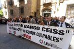 Manifestación de empleados de Caja Duero-Espana en Salamanca. Mayo 2013. Eldiario.es. Pereletegui.
