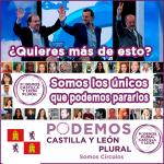 Campaña de Podemos Plural CyL a las primarias autonómicas.