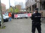 Protesta contra la detención de los antidesahucios de Maratalaz. Ponferrada, 17 marzo 2015. Foto: Enrique L. Manzano.