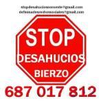 Logo. Stop Desahucios Bierzo.