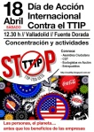 18 abril. Día Global contra el TTIP.
